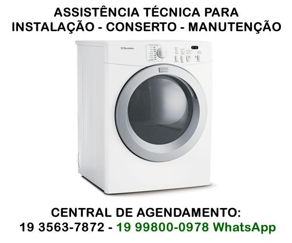 assistência técnica secadora